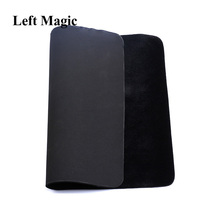 41.5*32cm Black High Quality Professional Card deck Mat close up magic tricks Pad For Poker & Coin prop illusion magia toy smoke ego mini magic tricks magician magia revolutionary smoke device stage close up party bar illusion gimmick prop mentalism