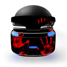 Cool Blood Palm Prints Decal PSVR Skin Sticker for Sony Playstation PS VR Headset