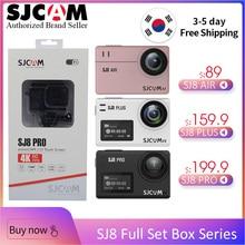 100% Original SJCAM-SJCAM SJ8 Pro & SJ8 Plus & SJ8 Air WiFi Remote Helmet Sports Action Camera Full Accessories Set Big Box