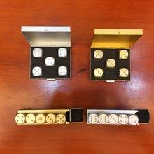 Алюминиевый набор кубиков отправить алюминиевая коробка/Металл подарки Продвижение Рождество дисплей Личность