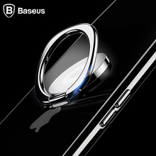 Baseus Universal Mobile Phone Holder 360 Degree Rotation Finger Ring Holder Magnetic Car Bracket Stand Mobile Phone Accessories