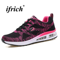 Brand Running Shoes Women 2018 Spring Summer Womens Sport Runners Breathable Jogging Sneakers Brand Ladies Trainers
