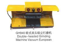 Двойной головкой шлифовальный станок ювелирные изделия полировщик Европейский стиль полировка двигателя пылесборник