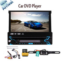 Touch Screen Monitor Audio Video Receiver System GPS Navigation,Radio,Bluetooth,Microphone,USB Micro SD Reader Single DIN HD 7