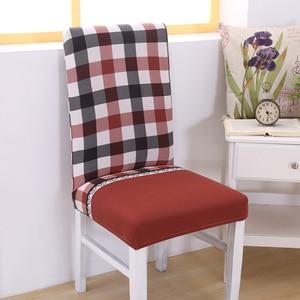 Image 4 - Blume Stuhl Decken Elastischen Sessel Schonbezug Möbel Esszimmer Kithcen Sitzbezug Für Hochzeit Büro
