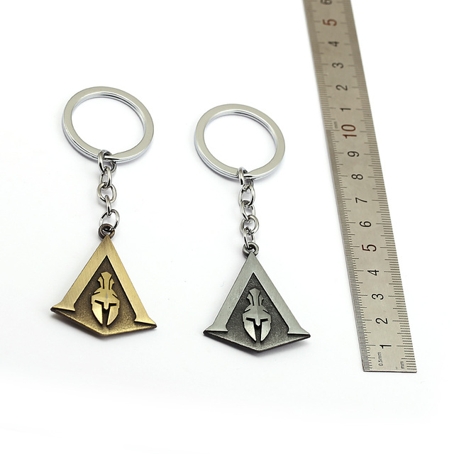 Assassins Creed Keychain Odyssey New Game assassin's Key Chain Key Holder Porte Clef Llaveros Hombre 2