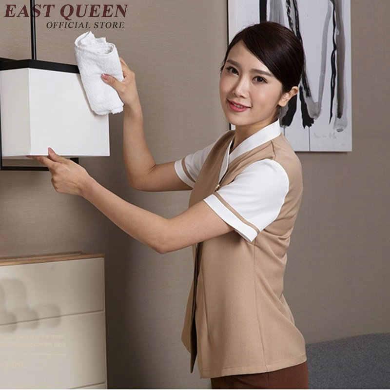 ホテル制服ホテルハウスキーピング制服レストランウェイトレスの制服ホテルレストラン服 NN0171