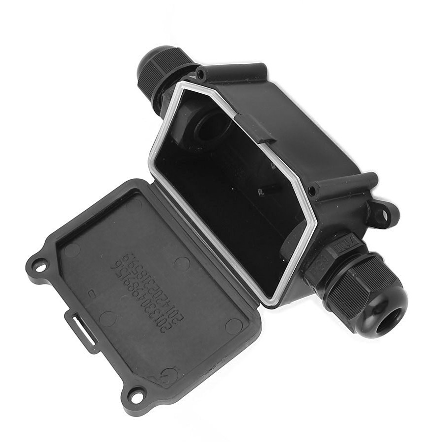 IP65 Waterproof Outdoor 2 Way PG9 Gland Electrical Junction Box ...