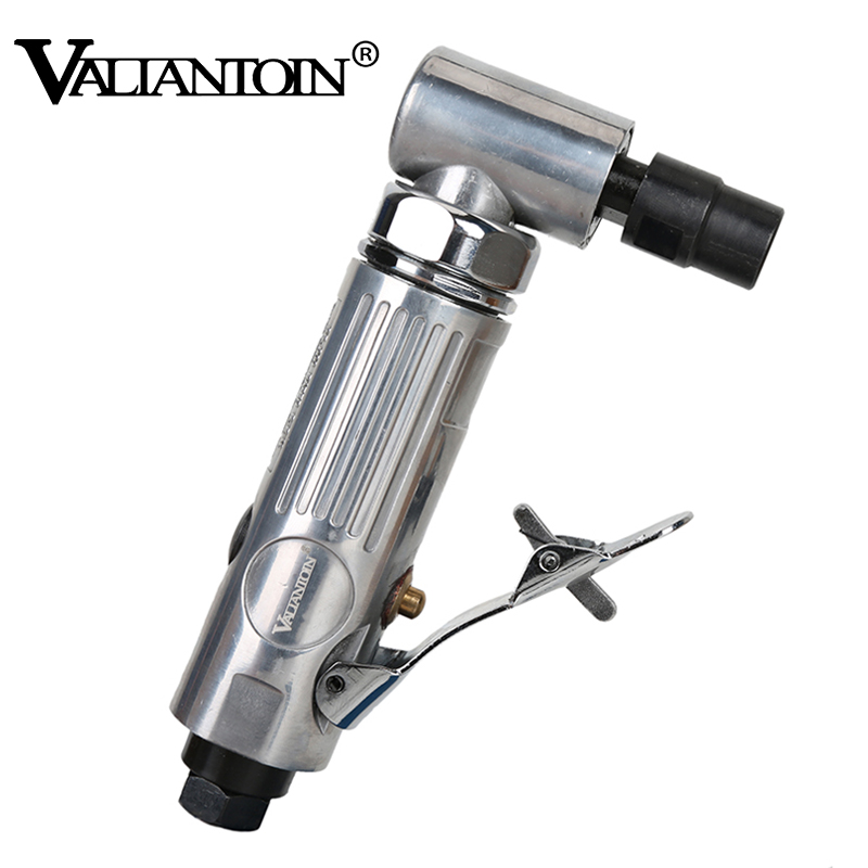 """VALIANTOIN 1/4"""" Air Angle Die Grinder 90 Degree Pneumatic Grinding Machine Cut Off Polisher Mill Engraving Tools Pneumatic tool"""