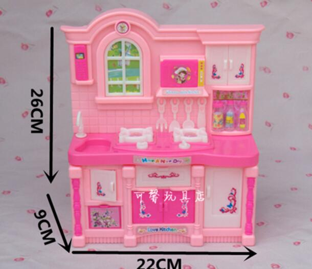 Children play house toys Simulation kitchen for Barbie house furniture  accessories Girl cook cooking kitchen utensils. Online Buy Wholesale barbie house from China barbie house