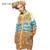 ELF SACK Primavera 2016 Mulheres de Outono Camisola do Bloco da Cor da Cópia do Leopardo das Mulheres Jacquard Moda Longo Cardigan