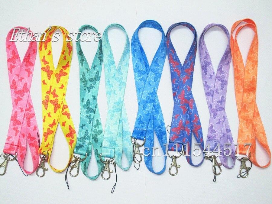 bilder für Freies Verschiffen Mädchen Schmetterling Trageband Großhändler Mix Farbe