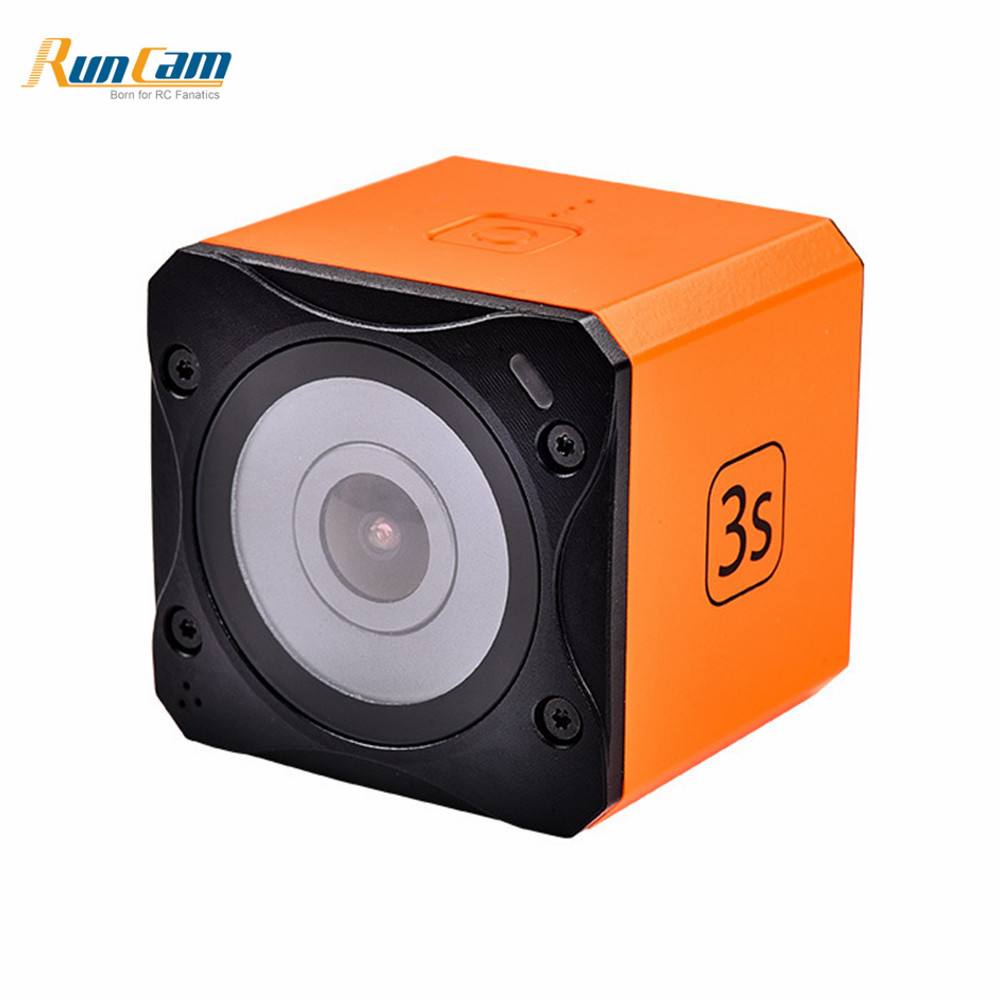 2018 New Runcam 3S WIFI 1080p 60fps WDR 160 Degree FPV Action Camera Detachable Battery for RC Racing Drone FPV Multicopter 100% original new runcam 2 fpv hd camera av out fpv camera runcam2 1080p 120 angle wifi for walkera qav250 rc racing drone