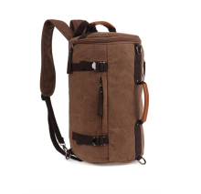 OnlyPuff Men Multifunction With Large Capacity Backpack Canvas Bag For Men's Travel Bag
