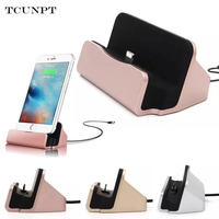 2017 100 Desktop Charging Dock Charger Data Sync Holder Stand For IPhone 5 5S SE 6