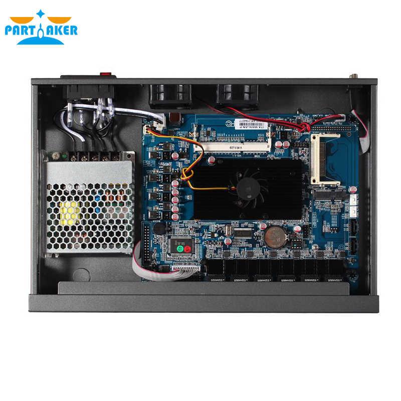 Partícipe R3 Intel D525 Dual Core 4 hilos Firewall de Hardware aparato con 6 82583v 4G RAM 128G SSD pfsense firewall