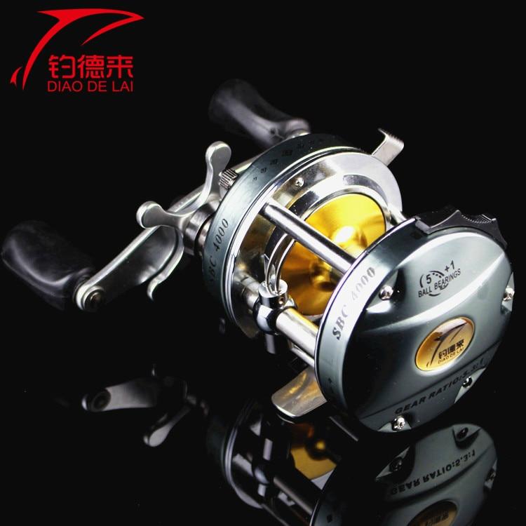 All-metal SBC 4000 /6000 series drum reel fishing gear 6 bearings meziere wp101b sbc billet elec w p