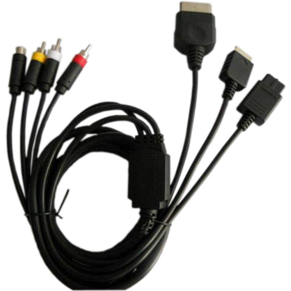 500 kosov veliko Super Audio Video S-AV kabel (sestavljen kabel - Igre in dodatki