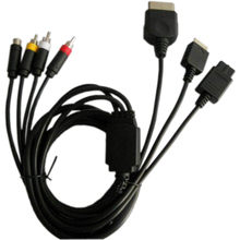 500 piezas mucho de Super Audio Video S-AV Cable (compuesto Cable) -S-Video AV para XBOX PS2 NGC N64