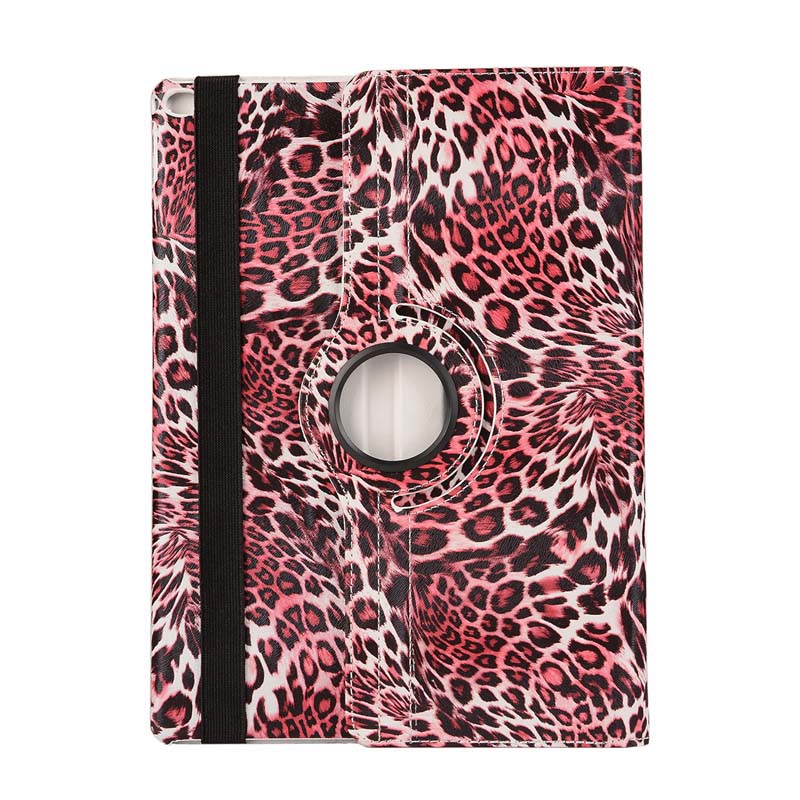 Ultra Thin Leopard 360 Degree Rotation Flip Stand PU Leather Stand Holder Pouch Case Cover For Apple Ipad Pro 12.9 inch Tablet 8 inch 360 degree rotation pu leather case for 8 inch tablet pc black
