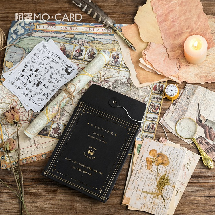39 Pcs/pack Creative Vintage Times Personal Letter Greeting Card Postcard Birthday Letter Envelope Gift Card Set Message Card