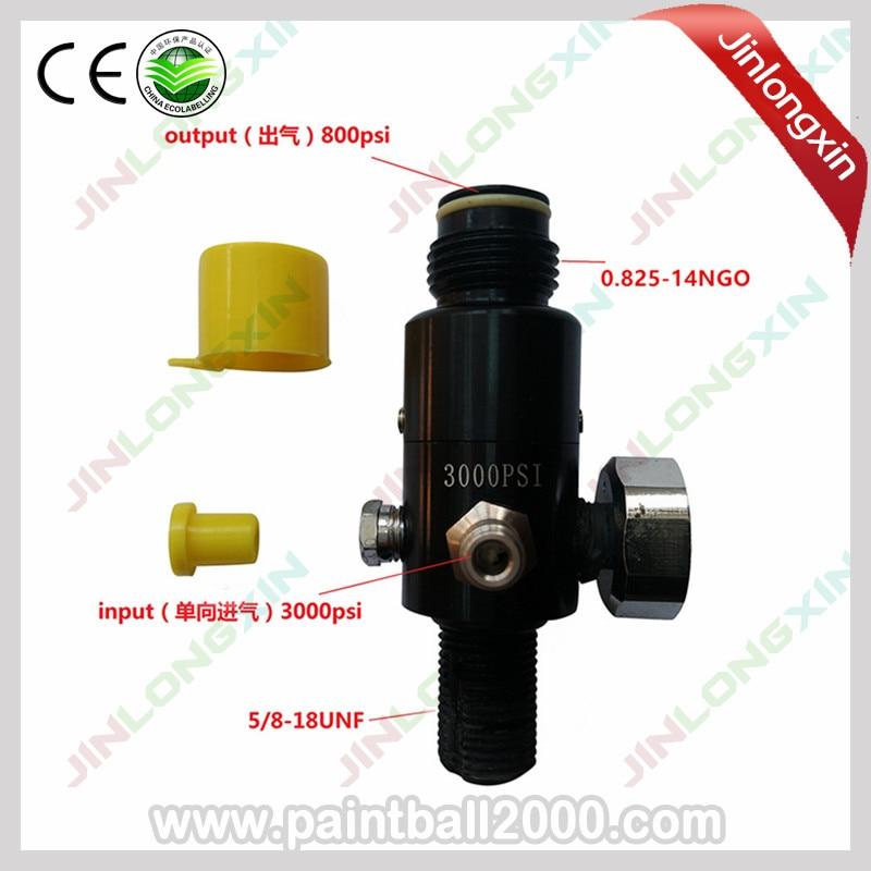 SPUNKY 5 pcs lot Paintball 3000psi HP Air Tank Regulator Thread 5 8 18UNF Output Pressure