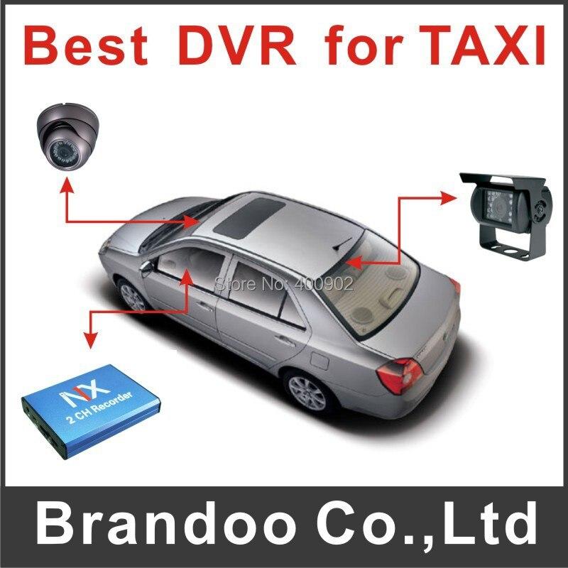 ФОТО 2 Channel Car DVR - SD Card Recording, Metal housing mobile DVR