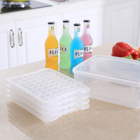 4 layer big ice transparent square lattice ice mould 29*22*10cm Free shipping