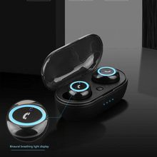 Bluetooth 5.0 Earphone TWS Earbuds Wireless Earphones 8D Stereo Headset With Mic and Charging Box
