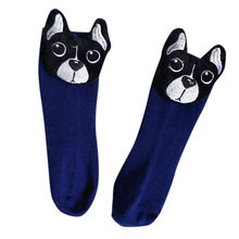 kids socks Cartoon Kids Cute Toddler Baby Girls Boys 3D Cartoon Dog Animal Anti-Slip Socks Slippers(China)