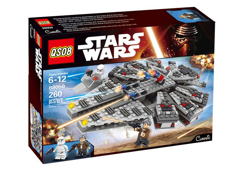 2016 New LEPIN Building Blocks Star Wars The Force Awakens Millennium Falcon Model Kits Buildable Figures Compatible with Legoe 84pcs star wars the force awakens jakku rey star general minifigure building blocks model bricks toys compatible legoe 75113