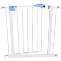 baby safety door baby gate kids child fence gate fencing for children baby pet fence baby fence stairs for door width 74 87cm