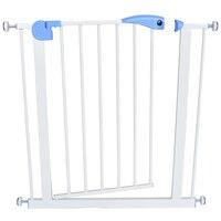 baby safety door baby gate kids child fence gate fencing for children baby pet fence baby fence stairs for door width 74 87cm