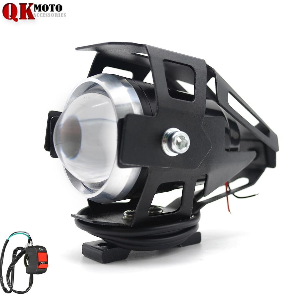 12V Motorcycle Headlight Driving Spot Head Lamp For Yamaha TMax 500 TMax 530 XJ6/DIVERSION XJR 1300/Racer XSR 700 900|  - title=