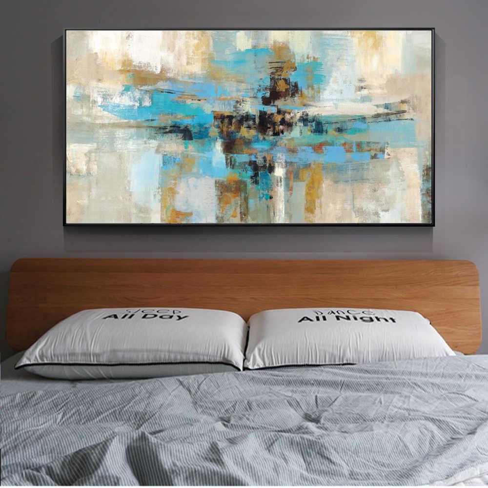 turquoise bedroom wall art