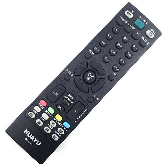 รีโมทคอนโทรลเหมาะสำหรับLg TV AKB33871407 AKB33871401 / AKB33871409 / AKB33871410 MKJ32022820 AKB33871420 AKB33871414 Huayu