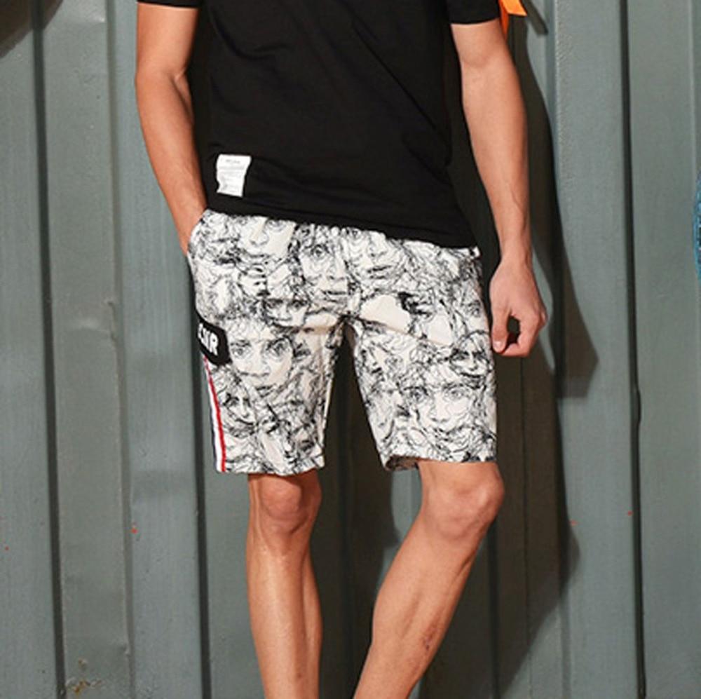 2019 Männer Neue Mode Sommer Beiläufige Breite Gedruckt Strand Kurze Hosen Shorts Geschenk Sommer Bord Modis Sungas De Praia Homens Usa Hoher Standard In QualitäT Und Hygiene