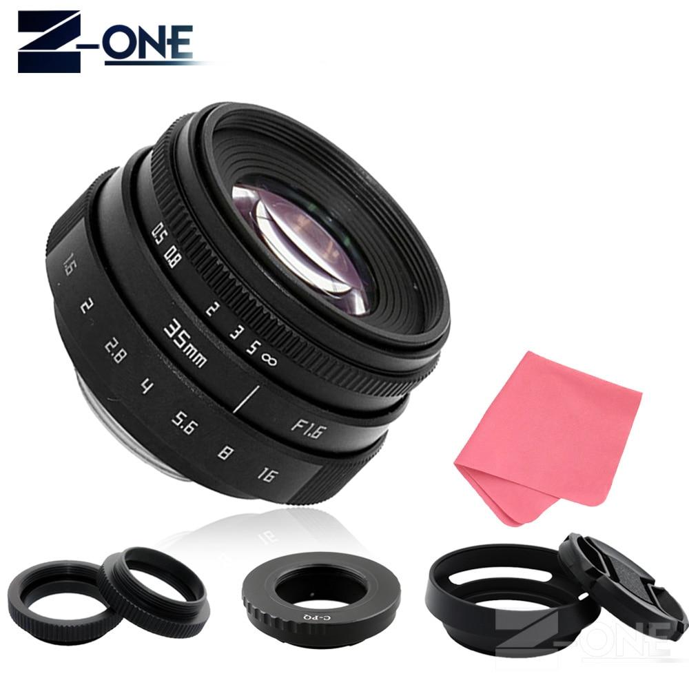 35mm F1.6 CCTV Lens C Mount Camera Lens + Lens Hood for or C-PQ Lens Mount Ring Adapter C-P/Q for Pentax Q/Q10/Q7/Q-S1 Camera fujian 35mm f1 7 cctv movie lens 50mm f1 4 cctv tv lens c mount for pentax q q7 q10 q s1 adapter ring c pq lens hood