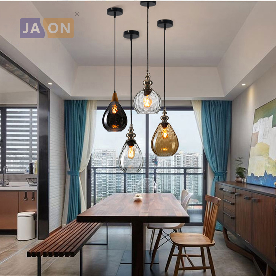 e27 edison bulb Postmodern Glass Wood Iron LED Lamp LED Light. Pendant Lights.Pendant Lamp.Pendant light For Dinning Room led postmodern iron crystal ring led lamp led light pendant lights pendant lamp pendant light for dinning room foyer
