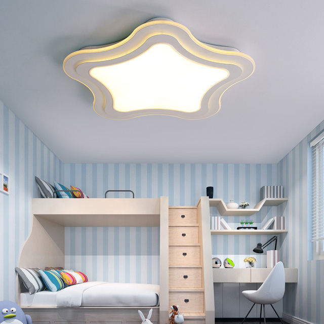 Superbe Children LED Lamp Start Childrenu0027s Room Ceiling Lamps Romantic Led Remote  Control Of Small Bedroom Lamps