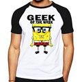2017 Hot tees cartoon men's t-shirt cartoon Designed casual shirt bob Sponge T shirt for men and women short sleeves