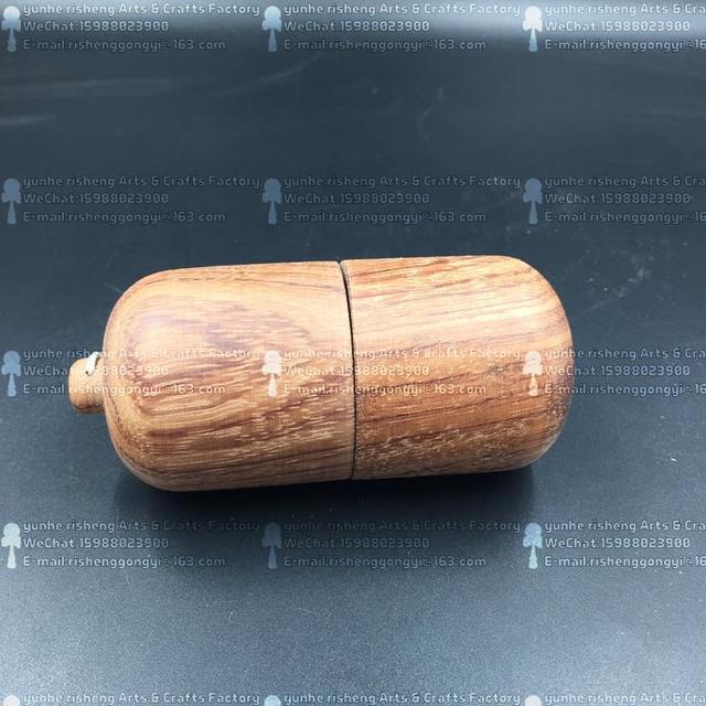 Twb al por menor de la forma de píldora kendama cereza making madera exterior degradables educativos para adultos