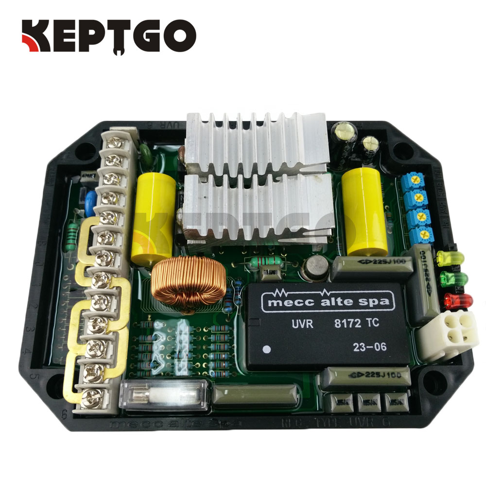 UVR6 Automatic Voltage Regulator AVR For Mecc Alte Electric GeneratorUVR6 Automatic Voltage Regulator AVR For Mecc Alte Electric Generator