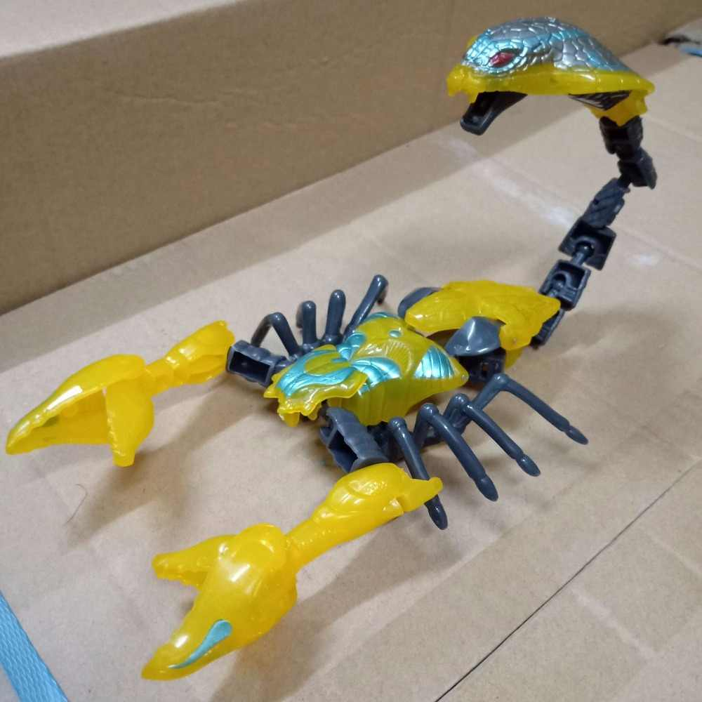 Transformação Beast Wars over size Scorponok toy figura