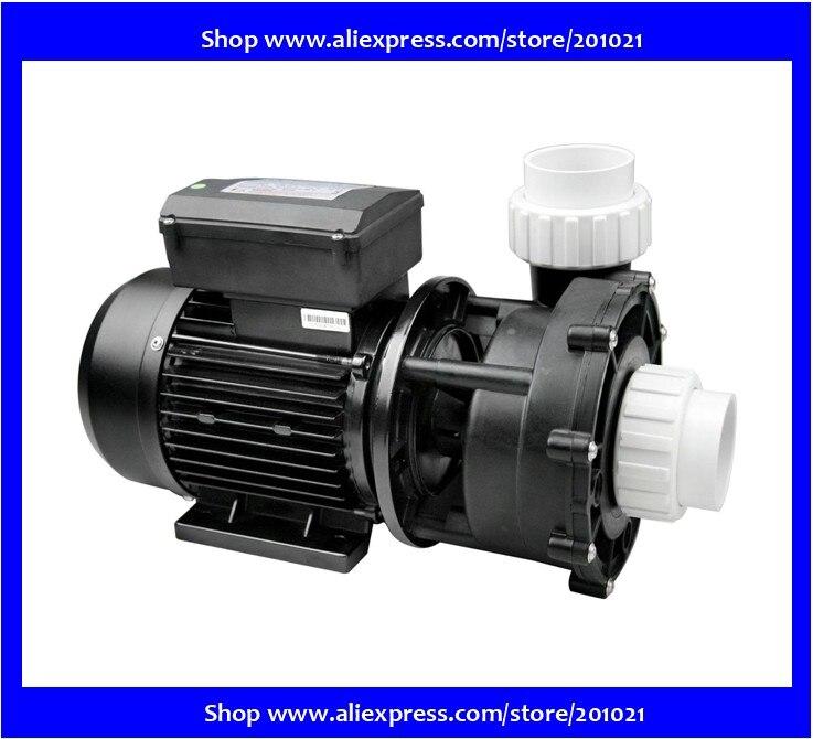 Насос для спа и бассейна с двойной/двухскоростной WP300 II 3.0 л. С./2,2 кВт 2200 Вт/3,0 ПС, высокая скорость, 450 Вт/0,62 ПС, низкая скорость