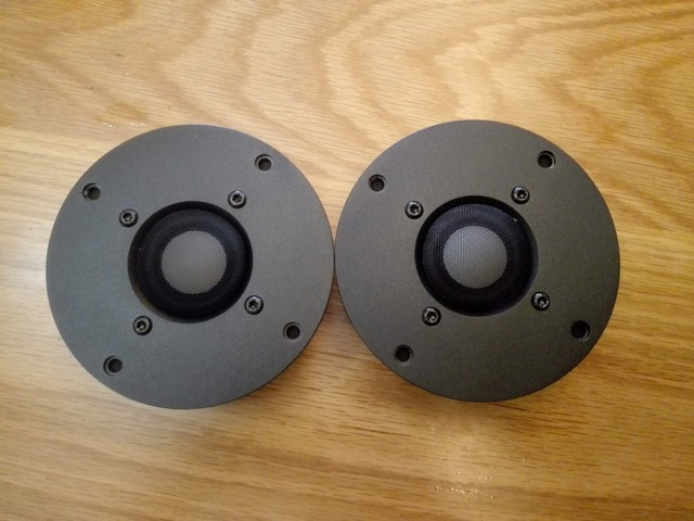 pair 2pcs davidlouis audio CMMD Ceramic dome NEO magnet tweeter speaker