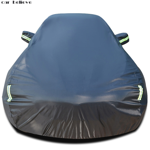 Car Believe Oxford Waterproof Thicken Car Cover For kia ceed mercedes w211 nissan patrol s40 Sunshade Snow rainproof Car Cover