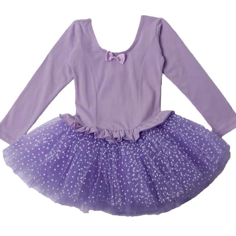 b07126a7b7b6 Big Discount Long Sleeve Bellet Tutu Kids Professional XXL Size Pink ...