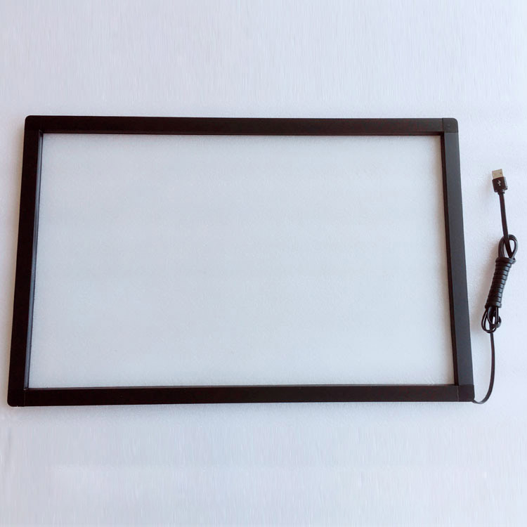 Free Shipping 24 inch 10 points infrared touch screen overlay IR touch frame usb touch screen