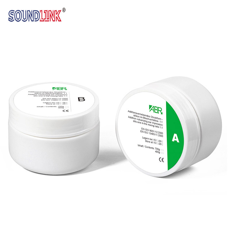 ABR Brand Silicone Impression Putty Material Dental Putty Impression Material Silicone for Custom Earmolds IEM Earphone